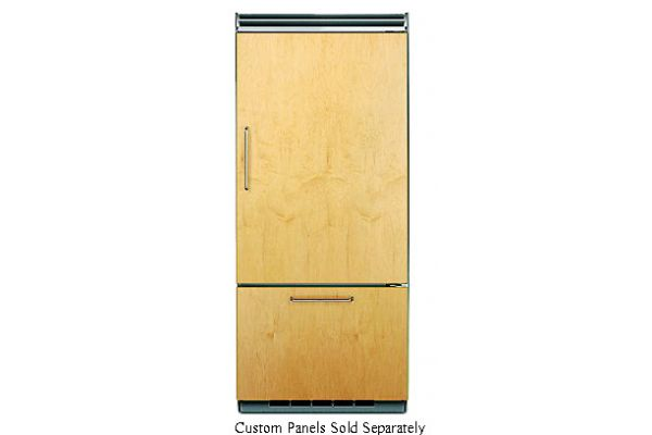 "Viking 36"" Professional 5 Series Custom Panel Bottom Freezer Refrigerator - FDBB5363ER"