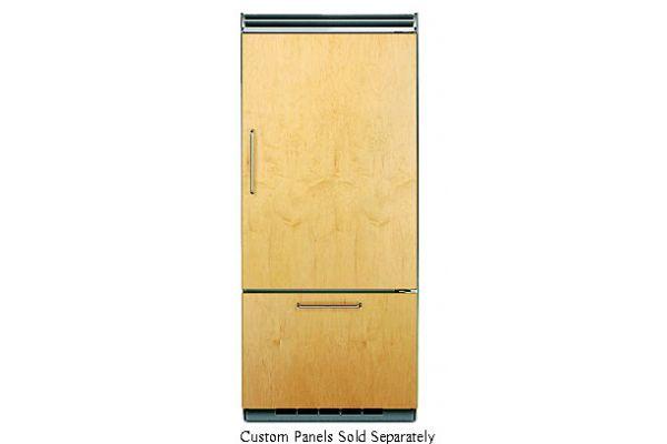 "Large image of Viking Quiet Cool 5 Series 36"" Custom Panel Right-Hinge Built-In Bottom-Freezer Refrigerator - FDBB5363ER"
