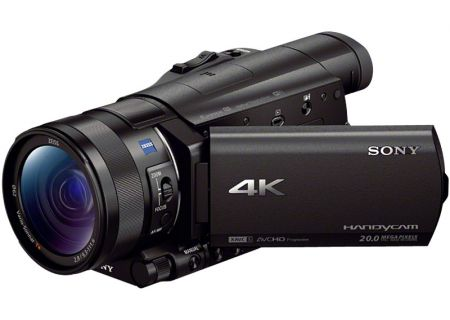 Sony - FDRAX100/B - Camcorders & Action Cameras