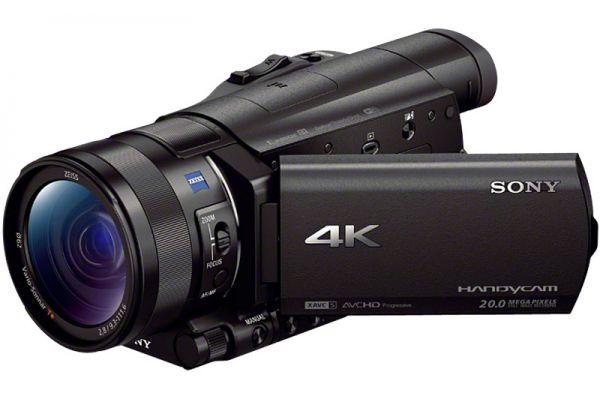 "Sony Black 4K Camcorder With 1"" Sensor - FDRAX100/B"
