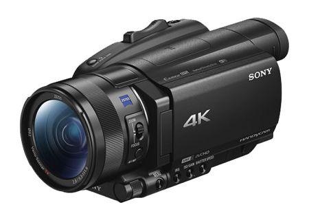 Sony Black 4K HDR Camcorder - FDRAX700/B