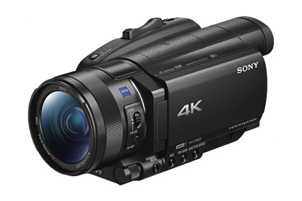 Large image of Sony Black 4K HDR Camcorder - FDRAX700/B