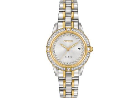 Citizen Eco-Drive Silhouette Crystal Womens Watch - FE1154-57A
