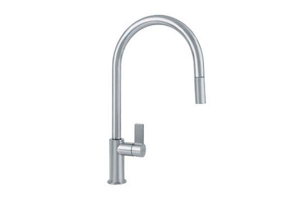Large image of Franke Satin Nickel Kitchen Faucet - FF3180