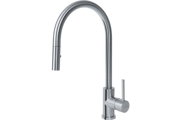 Large image of Franke Eos Stainless Steel Kitchen Faucet - FF3350
