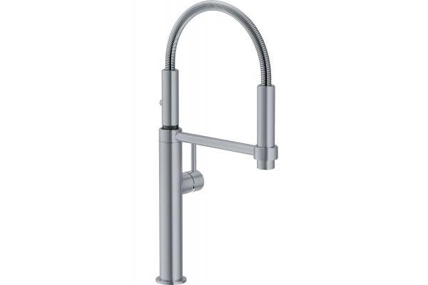Large image of Franke Pescara Satin Nickel Pull-Down Faucet  - FF4480