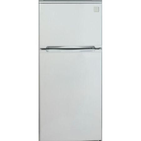 Avanti 4.3 Cu Ft Top Freezer White Refrigerator FF45006W