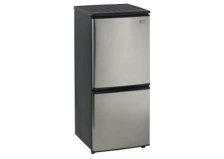 Avanti Stainless Steel Bottom Mount Compact Refrigerator   - FFBM45136SS