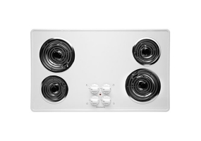 Frigidaire - FFEC3605LS WHITE - Electric Cooktops