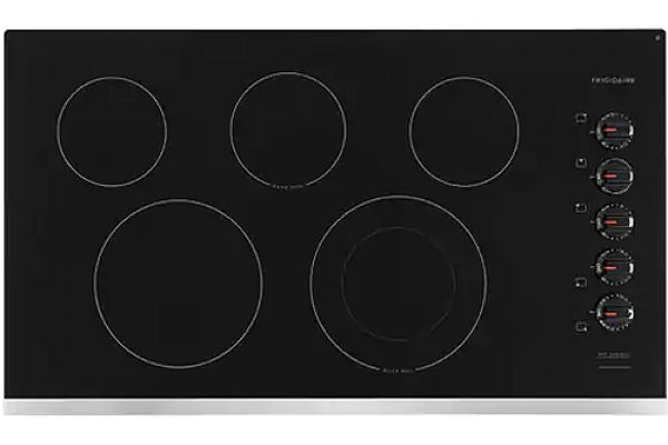 Large image of Frigidaire 36'' Stainless Steel Electric Cooktop - FFEC3625US
