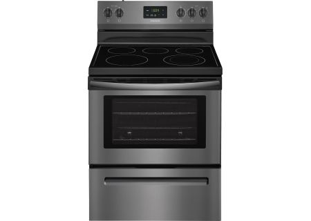 "Frigidaire 30"" Black Stainless Steel Freestanding Electric Range - FFEF3052TD"