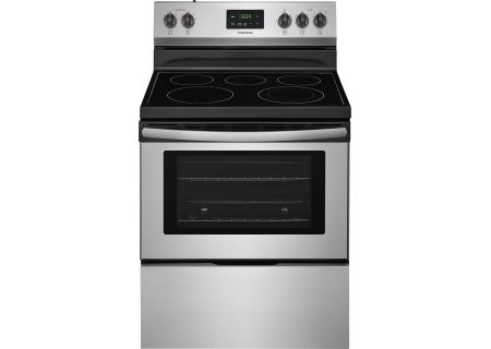 "Frigidaire 30"" Stainless Steel Freestanding Electric Range - FFEF3052TS"