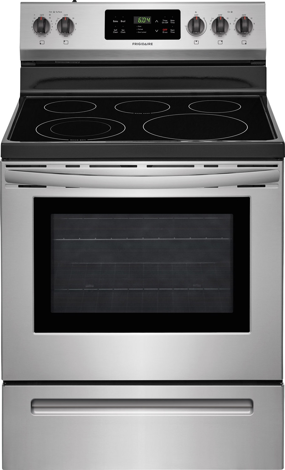 Electric Stoves Ranges ~ Frigidaire quot stainless electric range ffef ts