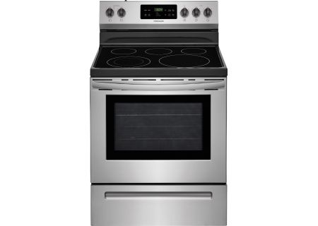 """Frigidaire 30"""" Stainless Steel Freestanding Electric Range - FFEF3054TS"""