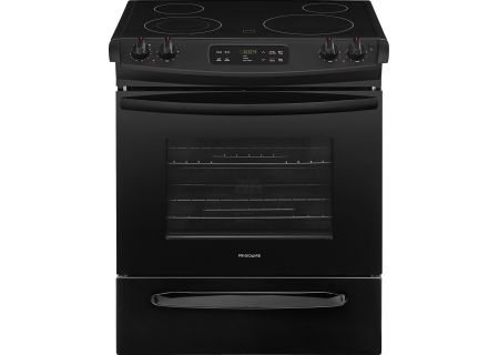 Frigidaire Black Slide-In Electric Range - FFES3026TB