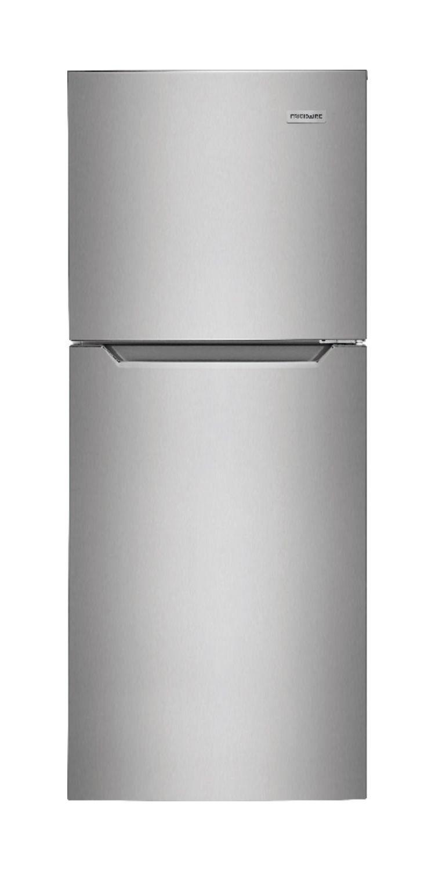 Frigidaire 10.1 Cu. Ft. Stainless Steel Top Freezer Apartment-Size  Refrigerator