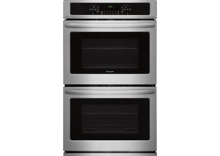 "Frigidaire 30"" Stainless Steel Double Wall Oven - FFET3026TS"