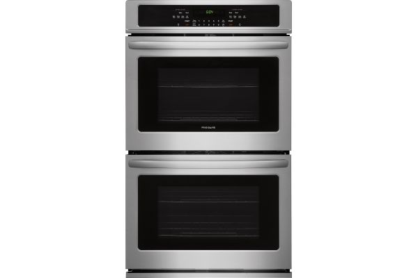 """Large image of Frigidaire 30"""" Stainless Steel Double Wall Oven - FFET3026TS"""