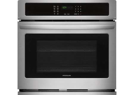 """Frigidaire 27"""" Stainless Steel Single Wall Oven - FFEW2726TS"""