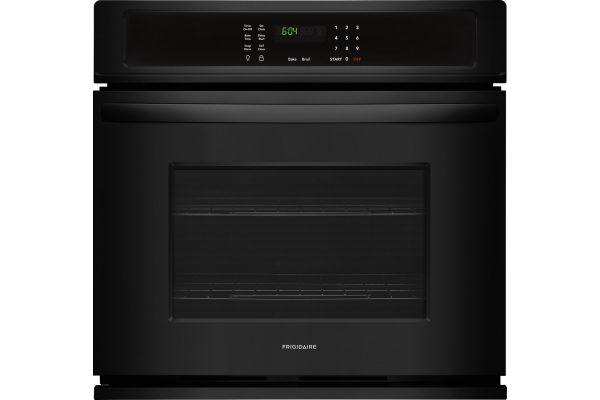 "Large image of Frigidaire 30"" Black Single Wall Oven - FFEW3026TB"