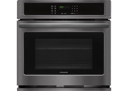 "Frigidaire 30"" Black Stainless Steel Single Wall Oven - FFEW3026TD"