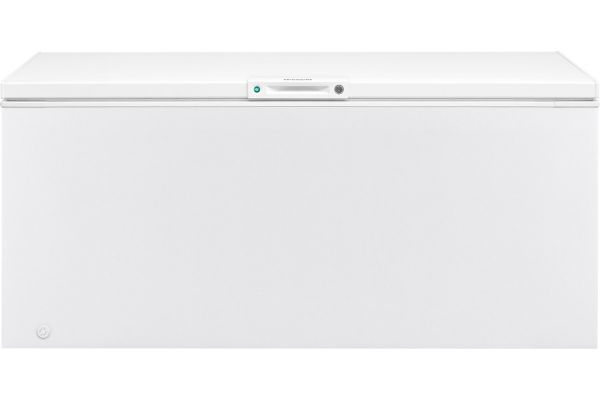 Large image of Frigidaire 19.8 Cu. Ft. White Chest Freezer - FFFC20M4TW