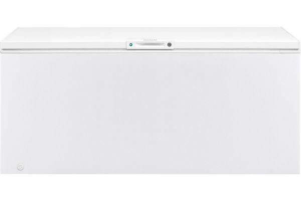 Large image of Frigidaire 24.8 Cu. Ft. White Chest Freezer - FFFC25M4TW