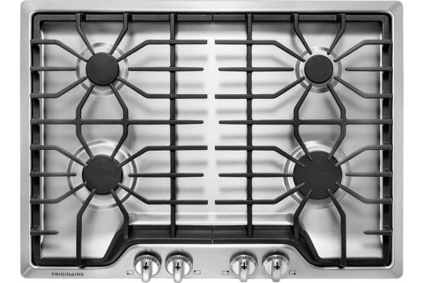 "Frigidaire 30"" Stainless Steel Gas Cooktop - FFGC3026SS"