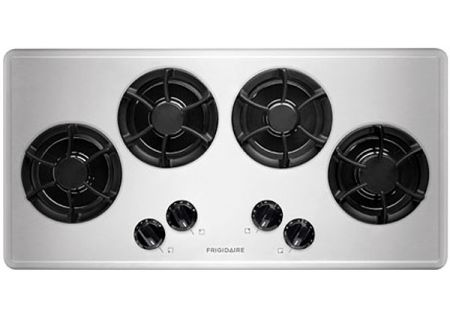 """Frigidaire 36"""" Stainless Steel Gas Cooktop - FFGC3613LS"""