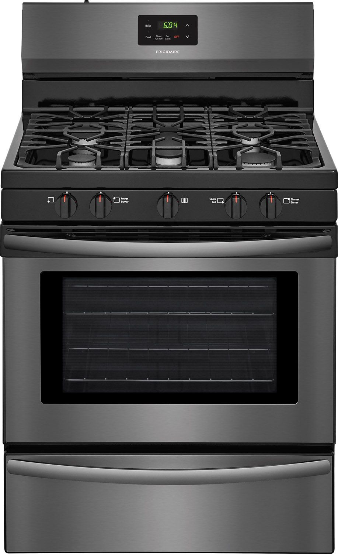 Frigidaire Black Stainless Steel Gas Range FFGF3052TD