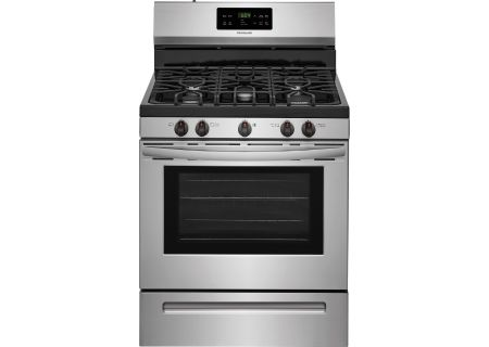"Frigidaire 30"" Stainless Steel Freestanding Gas Range - FFGF3054TS"