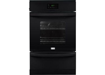 """Frigidaire 24"""" Black Gas Single Wall Oven - FFGW2415QB"""