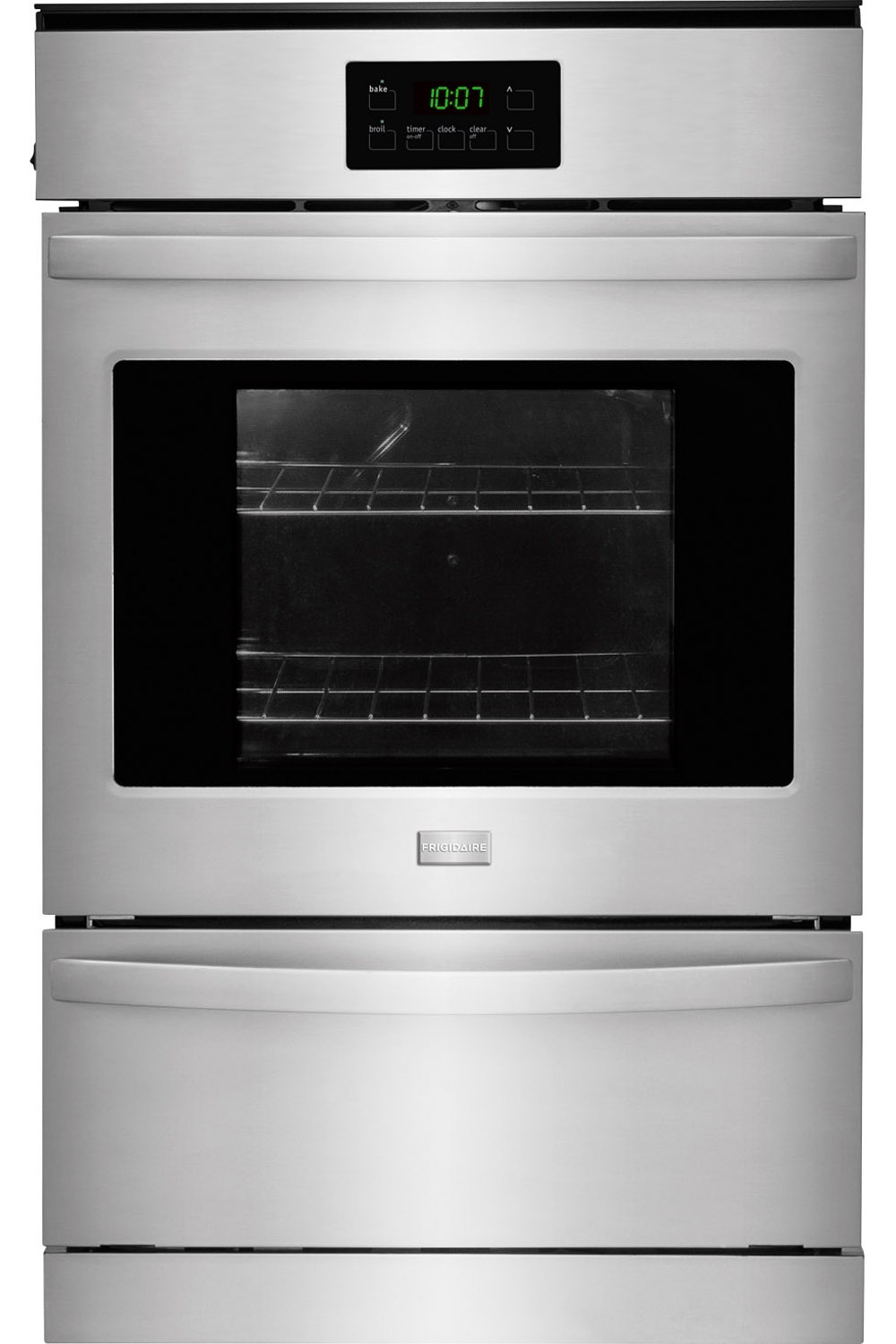 frigidaire 24quot stainless gas wall oven ffgw2415qs