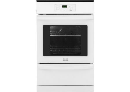 """Frigidaire 24"""" White Single Gas Wall Oven - FFGW2425QW"""