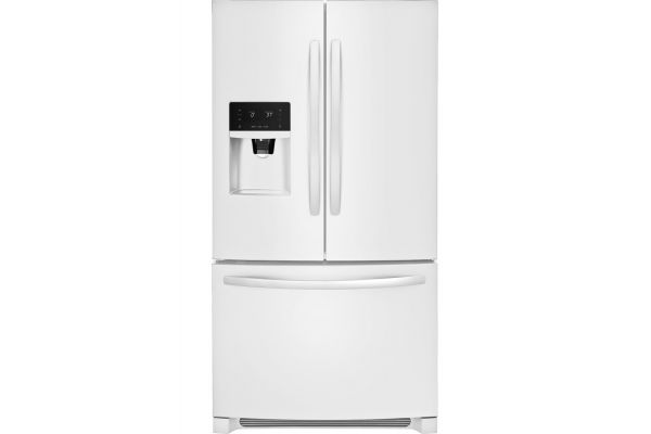 Large image of Frigidaire 26.8 Cu. Ft. Pearl White French Door Refrigerator - FFHB2750TP