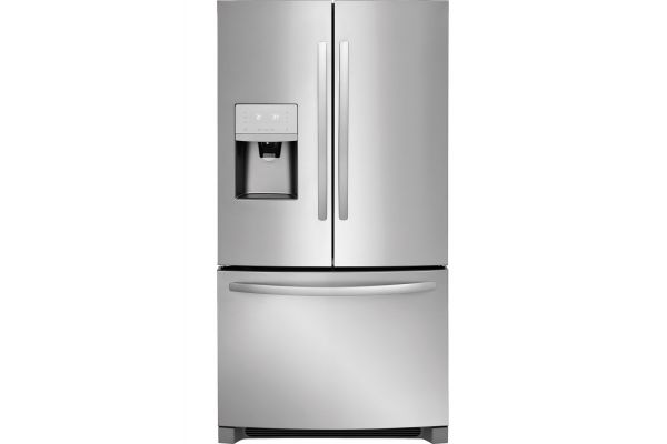 Large image of Frigidaire 26.8 Cu. Ft. Stainless Steel French Door Refrigerator - FFHB2750TS