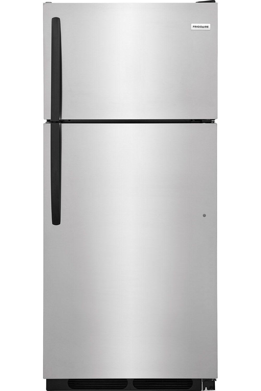 frigidaire stainless steel top freezer ffht1621ts. Black Bedroom Furniture Sets. Home Design Ideas