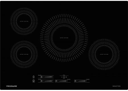 "Frigidaire 30"" Black Induction Cooktop - FFIC3026TB"