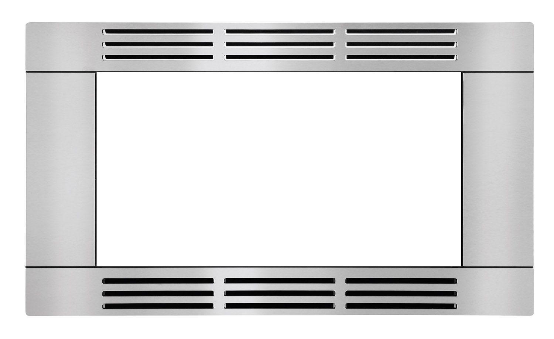 frigidaire stainless steel 27 trim kit ffmotk27ls abt. Black Bedroom Furniture Sets. Home Design Ideas