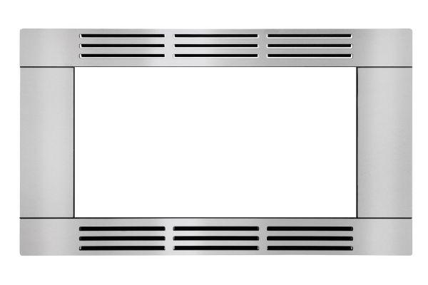 "Large image of Frigidaire Stainless Steel 27"" Trim Kit - FFMOTK27LS"