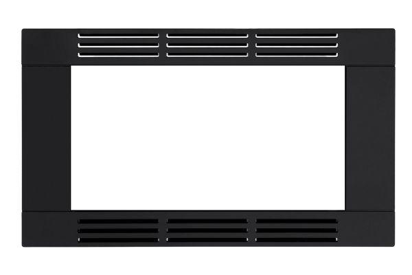 "Large image of Frigidaire 30"" Black Microwave Trim Kit - FFMOTK30LB"