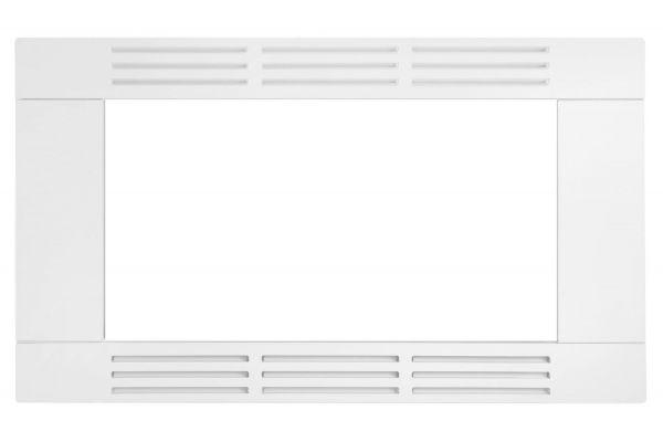 "Large image of Frigidaire White 30"" Built-In Microwave Trim Kit - FFMOTK30LW"