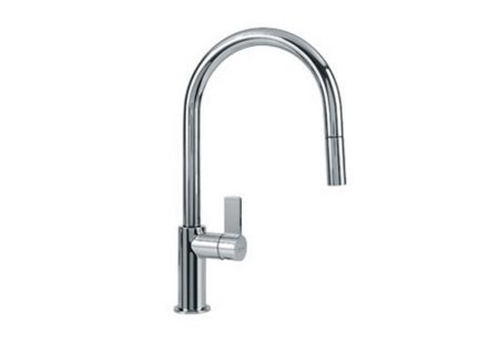 Franke Ambient Polished Chrome Pull Down Faucet - FFP3100