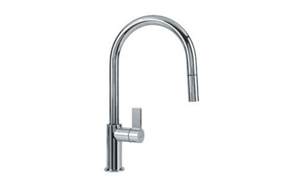 Large image of Franke Ambient Polished Chrome Pull-Down Faucet - FFP3100