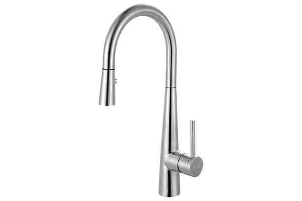 Large image of Franke Steel Stainless Steel Kitchen Faucet - FFP3450