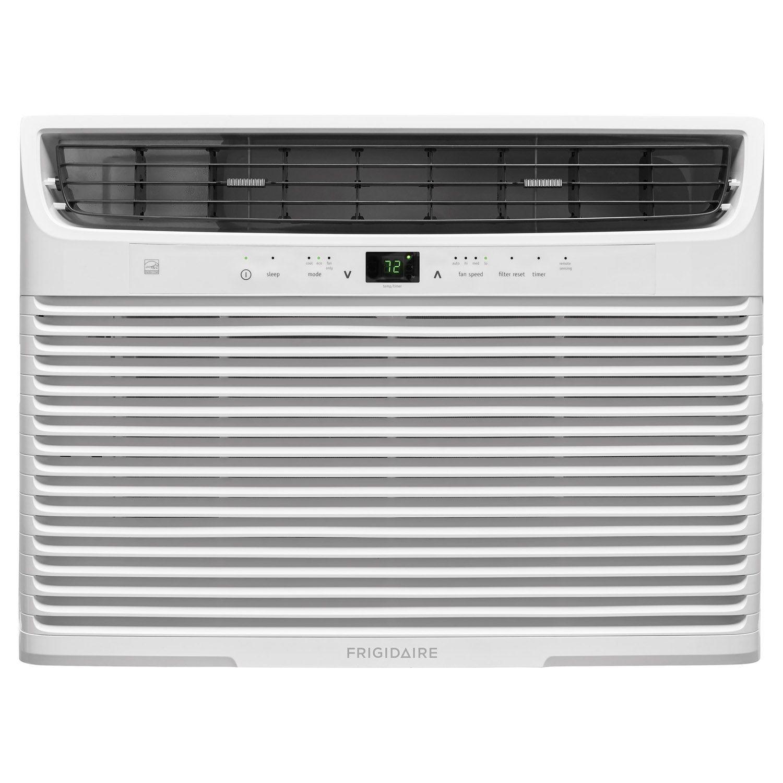 Frigidaire 12,000 BTU 12 1 EER 115V White Compact Window Air Conditioner