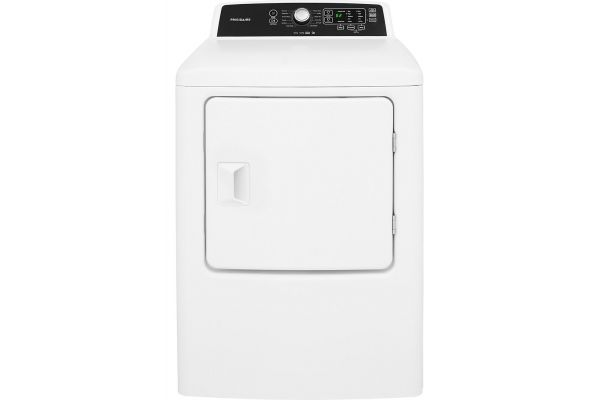 Large image of Frigidaire White Electric Dryer - FFRE4120SW
