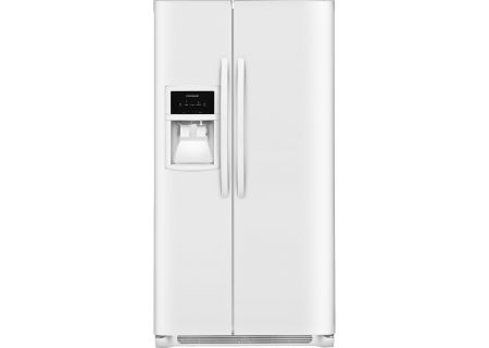 Frigidaire White Side-By-Side Refrigerator - FFSS2625TP