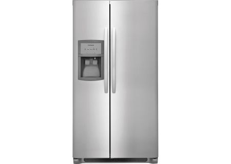 Frigidaire Stainless Steel Side-By-Side Refrigerator - FFSS2625TS