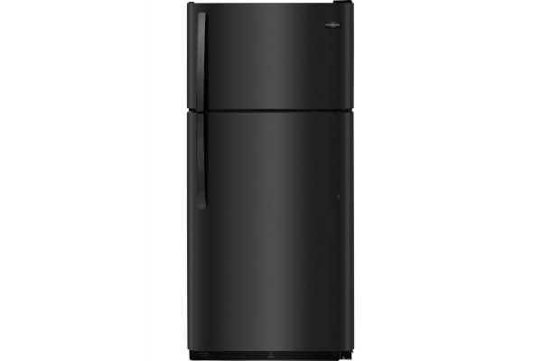 Large image of Frigidaire 18 Cu. Ft. Black Top Freezer Refrigerator - FFTR1814TB